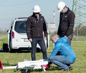 Vertical-Take-Off mit Starrflügeln: Mehrwert für Stromnetz-Sicherheitschecks