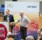 Die Safe Software-Gründer und Geschäftsführer Don Murray und Dale Lutz hielten die ersten Vorträge auf den FMEdays 2019 in Bonn. Foto: con terra