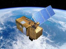 """Der Sentinel-2A-Satellit liefert die Bilddaten für das COP4EE-Koopertionsprojekt und gilt als Hauptsatellit des Projekts. Der """"Wächter"""" startete seine Reise ins All bereits im Juni 2015 von Französisch-Guyana aus, sein baugleicher Bruder Sentinel-2B im März 2017. Foto: European Space Agency (ESA) – P. Carril"""