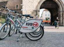 Für die Analyse der Radrouten wurde die KVB-Räder API genutzt. Sie liefert Standortdaten der abgestellten Räder. Foto: nextbike