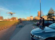 Drohnen im Einsatz. Seit 2018 setzt Wierig Profiltechnik eine md4-1000+ von Microdrones ein, um möglichst genaue Ergebnisse zu erhalten. Foto: Wierig Profiltechnik