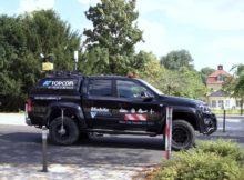 Mit dem mobilen Mapping-System hat das Topcon-Team in Bad Hersfeld ein Straßennetz von 130 Kilometern Gesamtlänge erfasst. Foto: Topcon