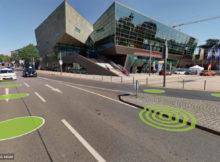 360-Grad-Panoramabilder von Darmstadt. Hier das Wissenschafts- und Kongresszentrum. Foto: CycloMedia