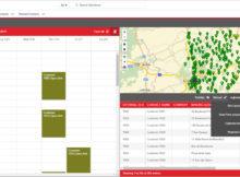 Professionelle Tourenplanung: Mit PTV Map&Market 25h können der Kalender automatisch gefüllt und Touren bei Terminänderungen optimiert werden. Foto: PTV