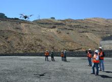 Datenerfassung per Drohne: Von der hohen Aufnahmequalität profitieren dann u.a. die späteren GIS-Analysen. Foto: Microdrones