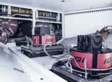 Im Rumpf des Airbus A319 verbauten IGI, Lufthansa Technik und ESG vier unabhängige Kamerasysteme. Foto: Lufthansa Technik