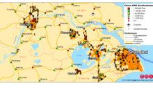 """Die """"Digitale Geographie AND"""" bildet das komplette chinesische Straßennetz inklusive zusätzlicher Informationen im Maßstab 1:250.000 an. Screenshot: DDS"""