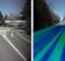eagle eye erfasst mittels Farbkameras und Laserscannern die Straßeninfrastruktur und kann daraus ein digitales Geländemodell (DGM) erzeugen, das den Straßenzustand erkennen lässt. Foto: eagle eye technologies