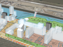 Beispielplanung des Quartiers Hamburg Baakenhafen: Mit XPlanGML, GeoTIFF, dem 3D-Stadt- und Geländemodell von Hamburg und verschiedenen 3D-Objekten entstand eine neue Stadtplanungs- und Partizipationslösung. Foto: virtualcitySYSTEMS GmbH