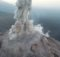 Bilder vom Überflug über den Vulkan Santa Maria in Guatemala. Foto: Zorn et al. 2020, Nature - Scientific Reports: DOI 10.1038/s41586-020-2212-1