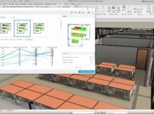 Das generative Design in Revit bietet Anwendungsszenarien wie Workspace-Layout. Foto: Autodesk
