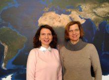 Privatdozentin Dr. Olena Dubovyk (links) und Privatdozentin Dr. Anja Linstädter (rechts) von der Universität Bonn. Foto: Javier Muro