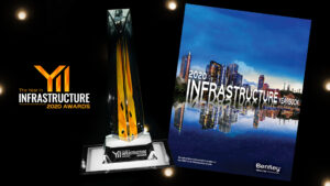 Alle Gewinner des Year in Infrastructure 2020 Awards, Finalisten und Nominierten werden in das Infrastruktur-Jahrbuch 2020 aufgenommen, das Anfang 2021 veröffentlicht werden soll. Foto: Bentley Systems