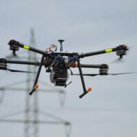 GGS: Monitoring von Stromfreileitungen mit hochintegrierter Spezial-Drohne