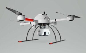 Microdrones hat mit dem md1000LiDARHR aaS eine neues integriertes Drohnensystem entwickelt, das die Lücke zum mdLiDAR3000 aaS verkleinern soll. Foto: Microdrones