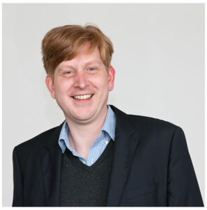 Frederik Hilling ist Gründer und Geschäftsführer der Geoplex GIS GmbH. Seit 2019 leitet er außerdem den Arbeitskreis 3D-Stadtmodelle. Foto: Geoplex GIS GmbH